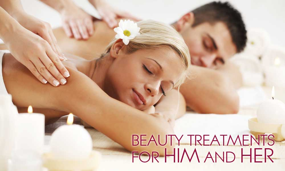 Beauty treatments in Woodley for him and her